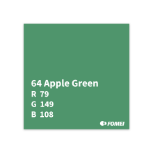 2,72X11M APPLE GREEN FOMEI