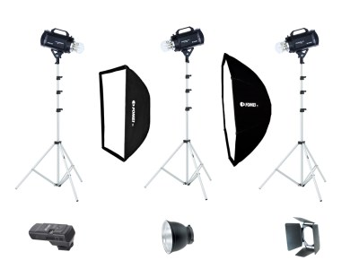 Digitalis Pro S 400/400/200, studio kit 0
