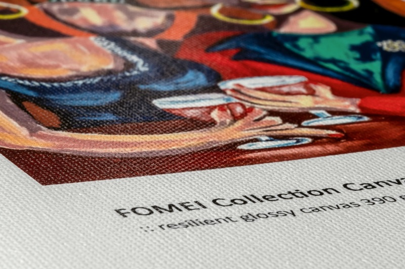 FOMEI Collection Canvas Gloss 390 - Detail