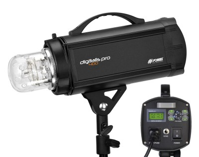 Digitalis PRO 400, studio flash head 400 Ws/300 W + receiver 2,4 GHz, FOMEI - used in workshops  0