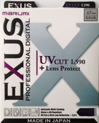 72mm UV cut (L390) EXUS,  MARUMI 0