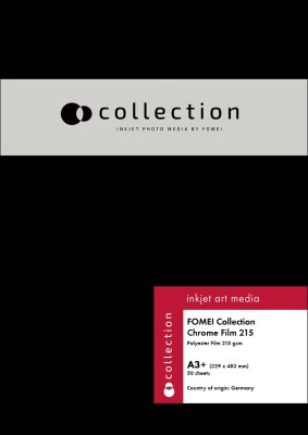 A3+/50 FOMEI Collection Chrome Film Satin 1