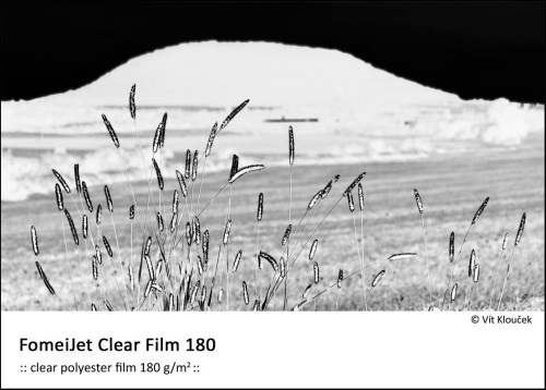 A4/5 FomeiJet Clear Film 180, trial pack
