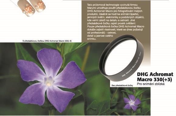 DHG 55mm ACHROMAT MACRO 200 5 MARUMI