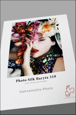 A4/25 Hahnemühle Photo Silk Baryta 310 0
