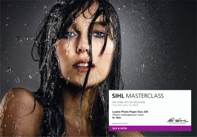 SIHL MASTERCLASS: sample book of gallery inkjet media 16