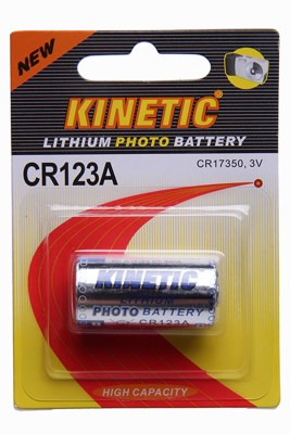 Lithium battery - CR 123 A, 3V 1200mAh PHOTO 0