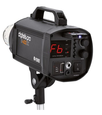 Digitalis Pro - S400 DC (strobo flash), FOMEI 0