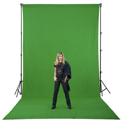 2,6x7,3m Chromakey GREEN, FOMEI 1
