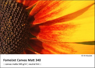 A4/5 FomeiJet Canvas Matt 340, trial pack 0