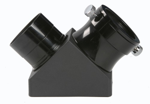 "Diagonal mirror viewfinder 2"" with reduction for 1,1/4 inch"
