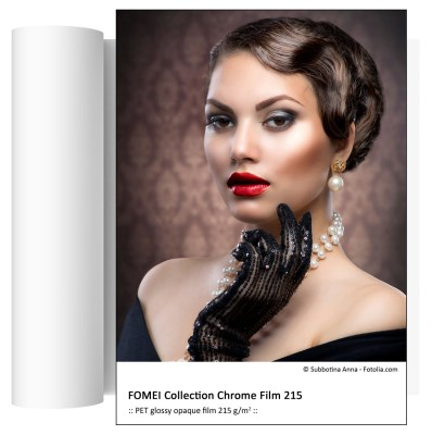 127,0cm x 30,5m FOMEI Collection Chrome Film 215 0