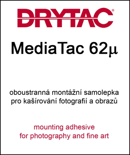 130cm x 50m MediaTac 62µ - pressure-sensitive mounting adhesive