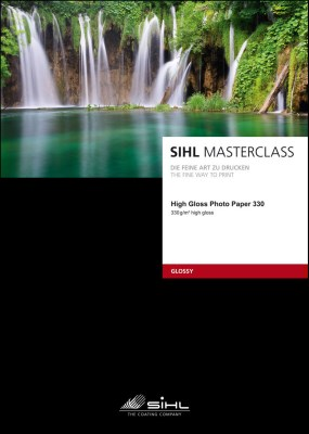 A4/25 SIHL MASTERCLASS High Gloss Photo Paper 330 (4841) 0