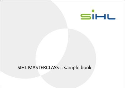 SIHL MASTERCLASS: sample book of gallery inkjet media 0