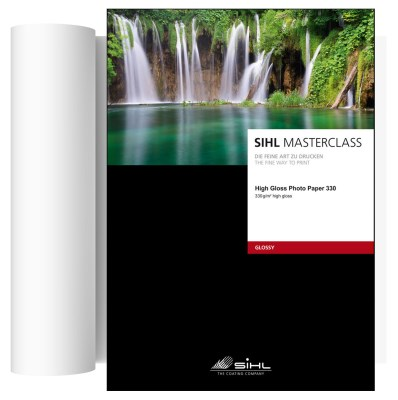 111,8cm x 30m SIHL MASTERCLASS High Gloss Photo Paper 330 (4841) 0