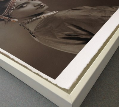 A2/25 Photo Rag® 308 Deckle Edge Hahnemühle 0