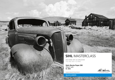 SIHL MASTERCLASS: sample book of gallery inkjet media 7