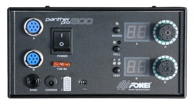 Fomei Panther PRO - 800, bat. generator + 2 x flash head + 2 x reflector 4