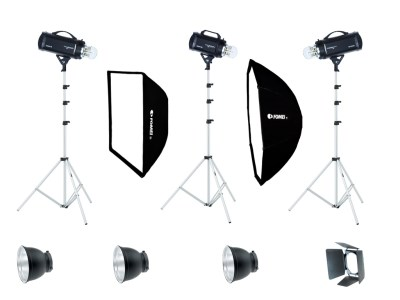 Digitalis S Pro/600/600/400, studio kit 0
