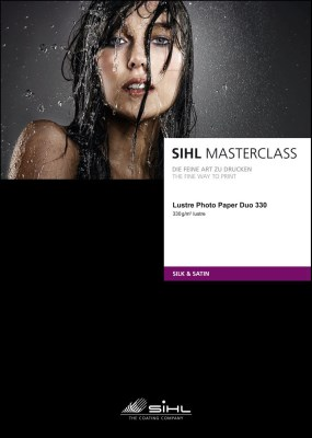 A3+/25 SIHL MASTERCLASS Lustre Photo Paper Duo 330 (4845) 0