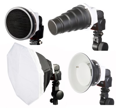 Creative SET for DSLR flashes 4-in-1 0