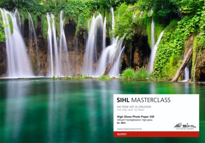 SIHL MASTERCLASS: sample book of gallery inkjet media 9