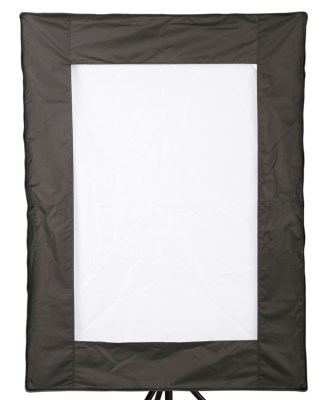 Softbox kit - 60x 85 cm BASIC voština/strip maska/kruhová maska, Terronic 5