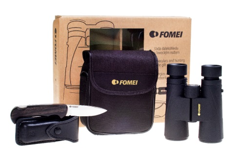 Fomei 10x42 DCF LEADER SE + hunting knife Mikov