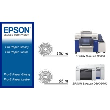210 mm x 65 m | EPSON Pro-S Paper Glossy | 2 role