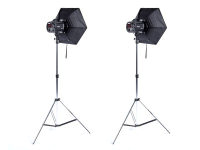 Strobo set 2/400/400, studio kit 0