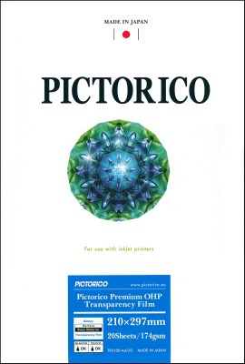 A4/20 PICTORICO Premium OHP Transparency Film 174 0