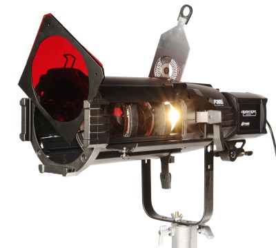 SPOT reflector with zoom lens 18