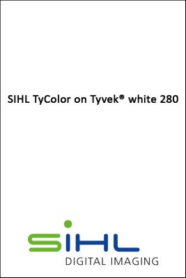 106,7cm x 30,0m SIHL TyColor on Tyvek® white 280 0