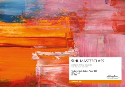 SIHL MASTERCLASS: sample book of gallery inkjet media 15