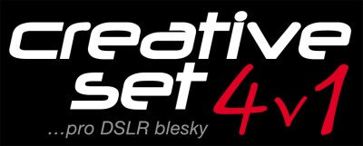 Creative set  pro DSLR blesky 4 in 1, FOMEI 4
