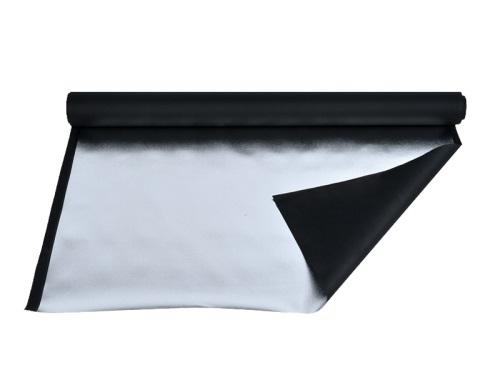 Reflective canvas Silver-Black 1m x 1 bm, FOMEI