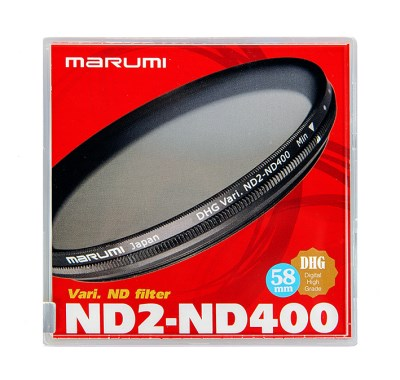 58mm VARI-ND Filter ( ND2-ND400), MARUMI  0