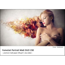 A4/5 FomeiJet Portrait Matt DUO 230, trial pack