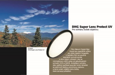 Super DHG-55mm UV Lens Protect MARUMI 1
