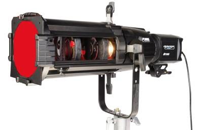 SPOT reflektor se zoom objektivem 25° - 50°, vč redukč. šroubu pro stojan, FOMEI 4