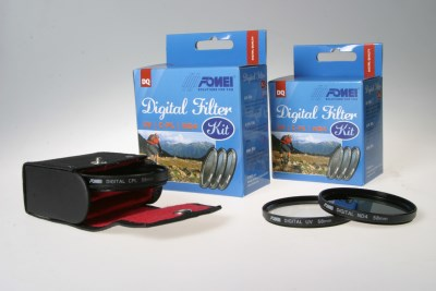 FOMEI DIGITAL FILTER KIT 55mm UV/C-PL/ND4 1