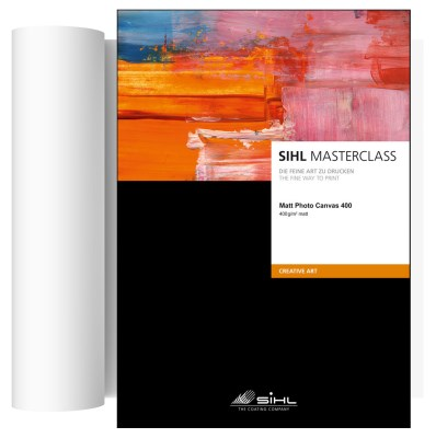 43,2cm x 12m SIHL MASTERCLASS Matt Photo Canvas 400 (4851) 0