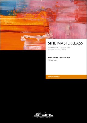 A4/25 SIHL MASTERCLASS Matt Photo Canvas 400 (4851) 0