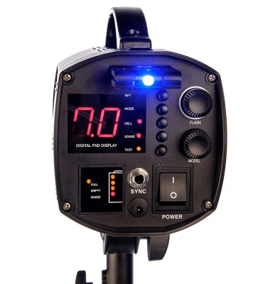 Digitalis Pro - S400 DC (strobo flash), FOMEI 3